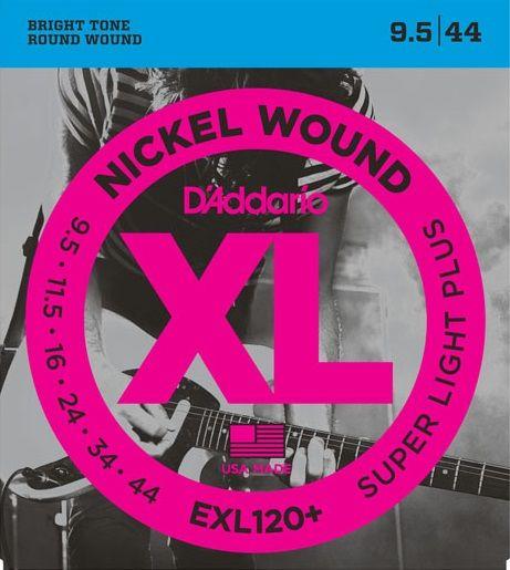 Daddario EXL120+ Struny pro elektrickou kytaru