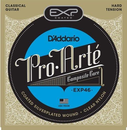 Daddario EXP46 Nylonové struny pro klasickou kytaru