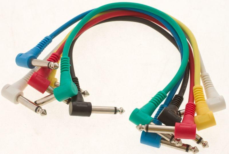 RockCable RCL 30031 D5 Propojovací kabely, 6ks