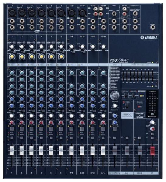 Yamaha EMX 5014C Mixážní pult se zesilovačem