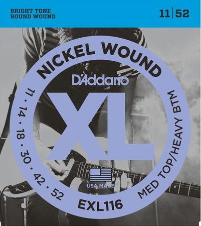 Daddario EXL116 Struny na elektrickú gitaru