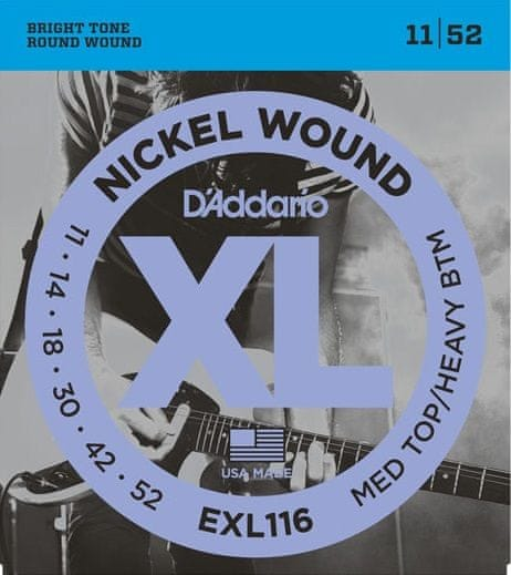 Daddario EXL116 Struny pro elektrickou kytaru