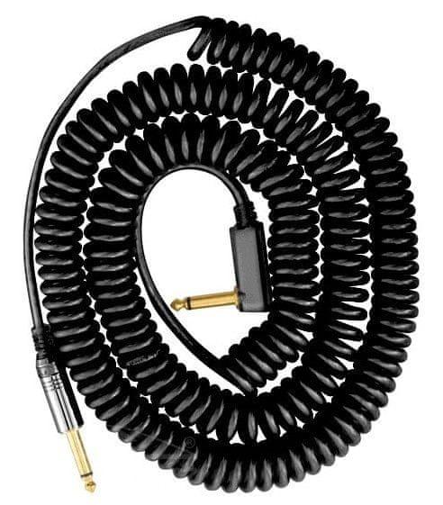 Vox VCC 090BK Kroucený nástrojový kabel