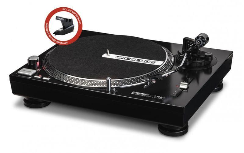 RELOOP RP-1000M DJ gramofon s řemínkovým náhonem