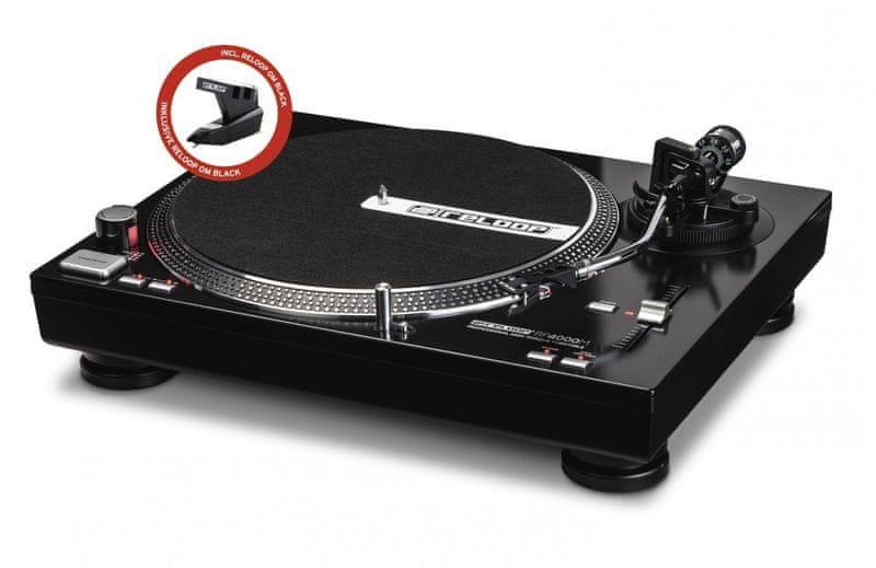RELOOP RP-4000M DJ gramofon s přímým náhonem