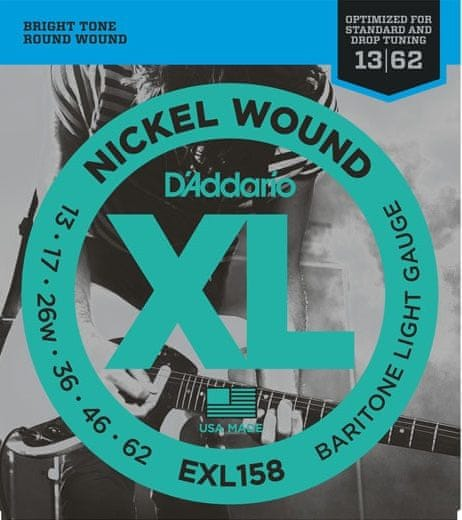 Daddario EXL158 Struny pro elektrickou kytaru