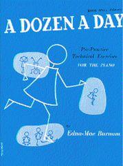 MS A Dozen A Day Book One: Primary Škola hry na klavír