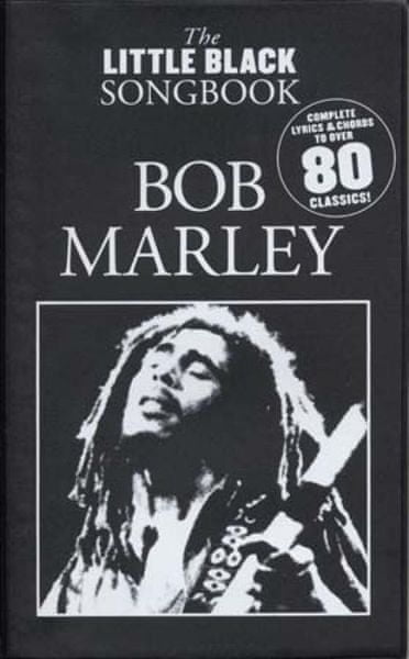 MS The Little Black Songbook: Bob Marley Noty pro kytaru