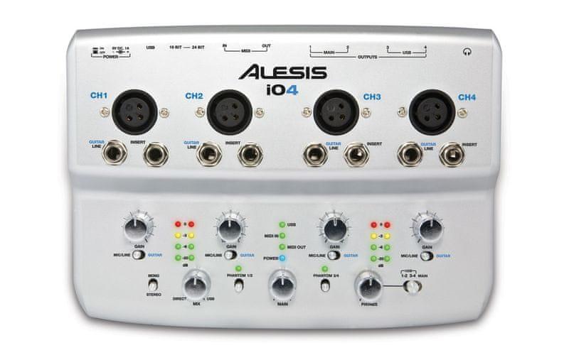 Alesis iO4 USB zvuková karta