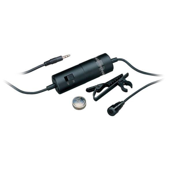Audio-Technica ATR3350 Kondenzátorový klopový mikrofon