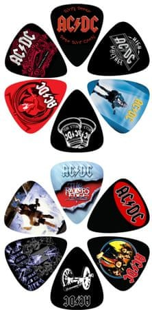 Perris Leathers AC/DC Picks V Brnkátka Signature