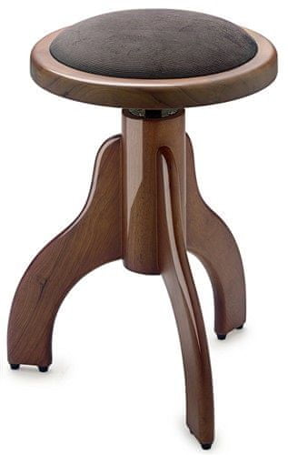 Stagg PS35 WNP VBR Otočná klavírní stolička