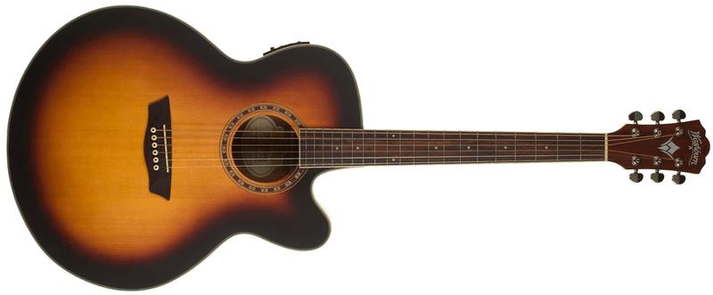 Washburn WJ7SCE ATBM Elektroakustická kytara