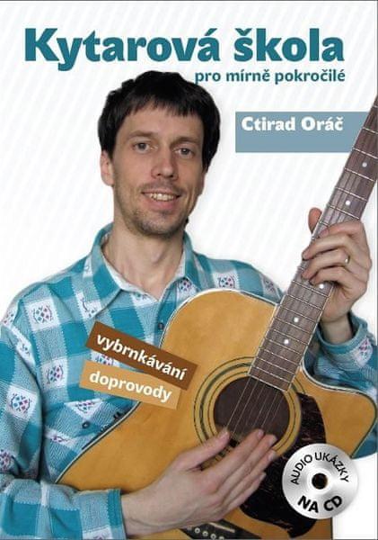 KN Kytarová škola pro mírně pokročilé + CD Škola hry na kytaru