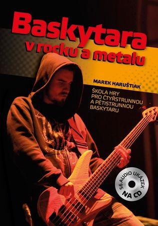 KN Baskytara v rocku a metalu + CD Škola hry na basgitare