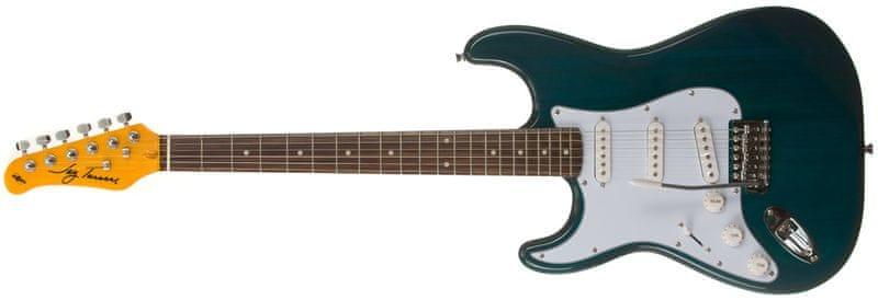 Jay Turser JT-300-LH-TBL Levoruká elektrická kytara