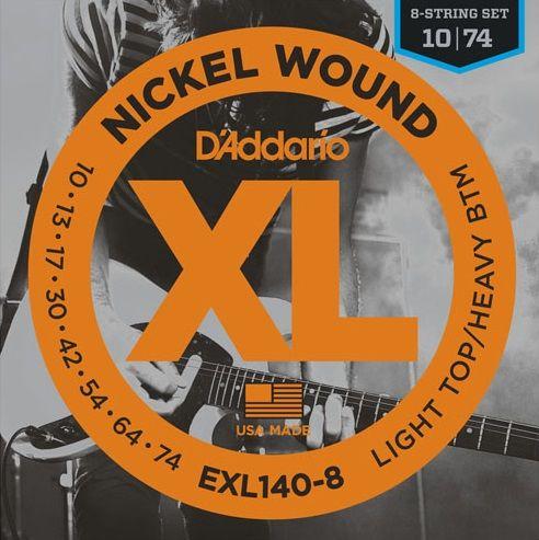 Daddario EXL140-8 Struny pro elektrickou kytaru