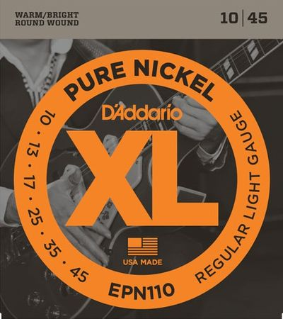 Daddario EPN110 Struny pro elektrickou kytaru