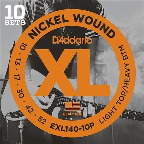 Daddario EXL140-10P Struny pro elektrickou kytaru