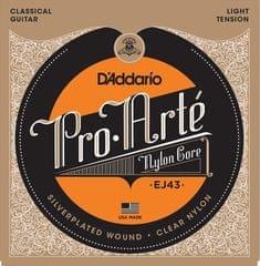 Daddario EJ43 Nylonové struny pro klasickou kytaru
