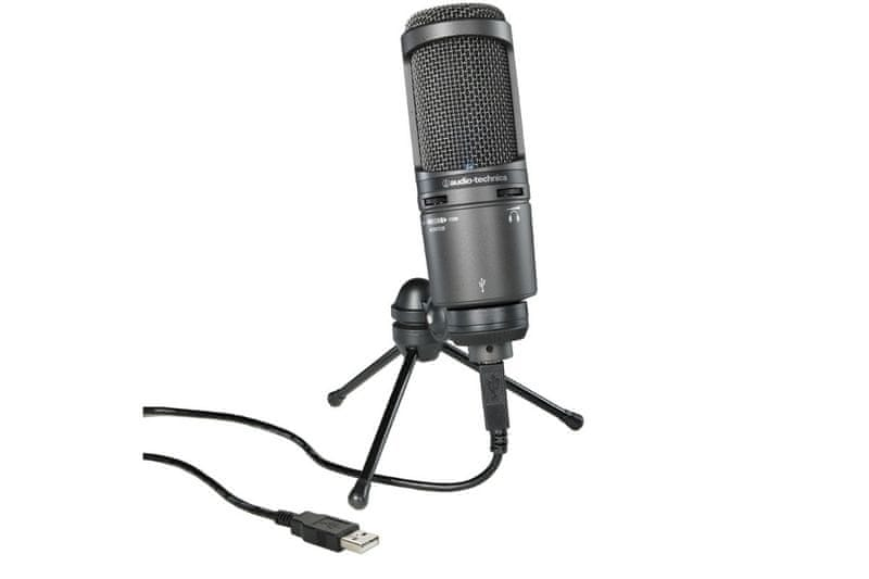 Audio-Technica AT2020USB+ USB kondenzátorový mikrofon