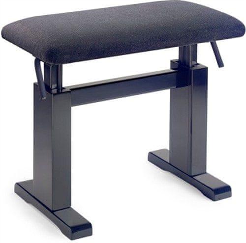 Stagg PBH 780 BKM VBK Hydraulická klavírní stolička