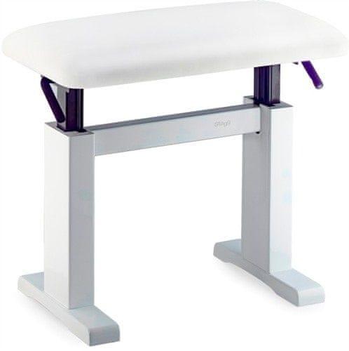 Stagg PBH 780 WHM SWH Hydraulická klavírní stolička