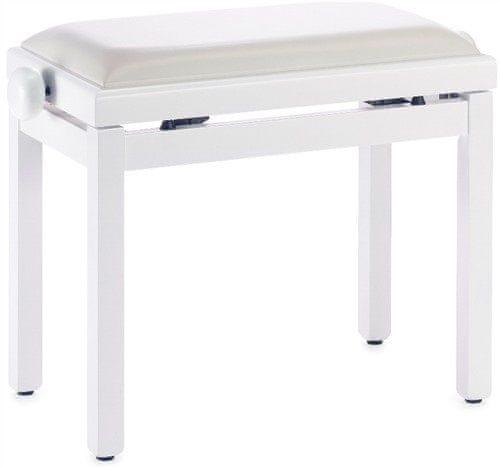 Stagg PB39 WHM SWH Klavírní stolička