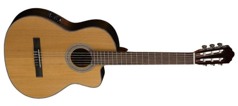 Cort AC-250CF NAT Klasická elektroakustická kytara