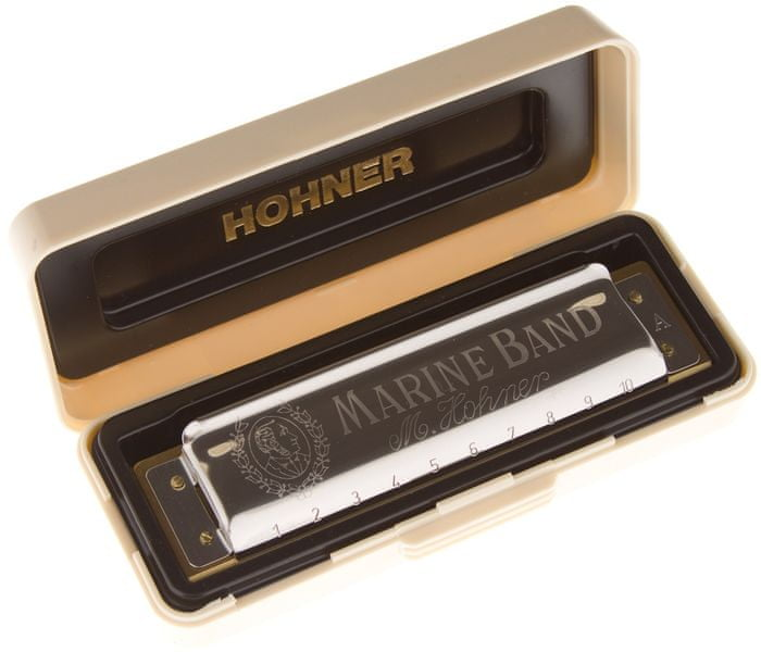 Hohner Marine Band 1896 A-major Foukací harmonika