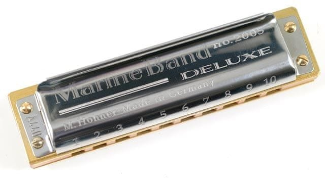 Hohner Marine Band Deluxe Db-major Foukací harmonika