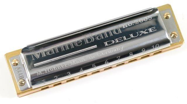 Hohner Marine Band Deluxe C-major Foukací harmonika
