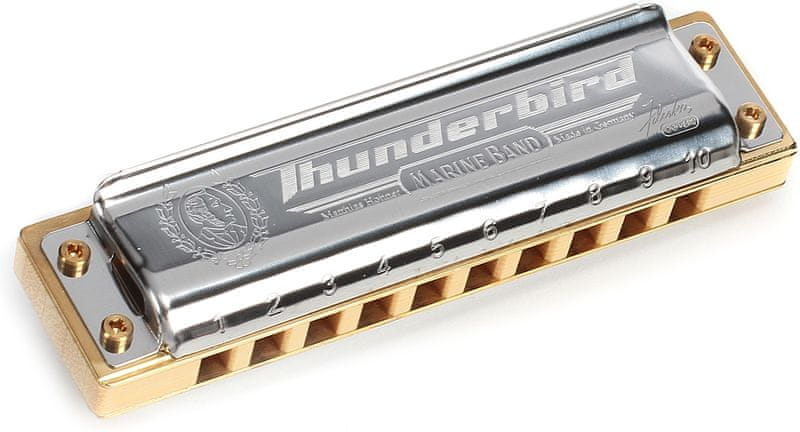 Hohner Marine Band Thunderbird D-major, low octave Foukací harmonika