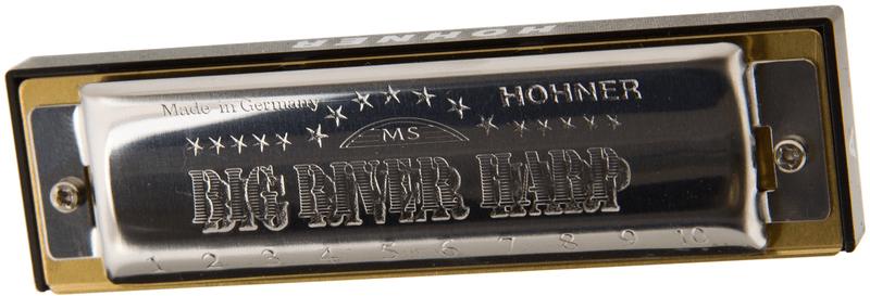 Hohner Big River Harp Bb-major Foukací harmonika
