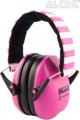 Alpine Muffy Pink Dětská izolační sluchátka