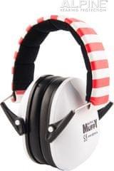 Alpine Muffy White Dětská izolační sluchátka