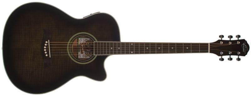 Oscar Schmidt OACEFTB Elektroakustická kytara