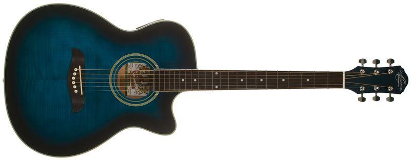Oscar Schmidt OACEFTBL Elektroakustická kytara