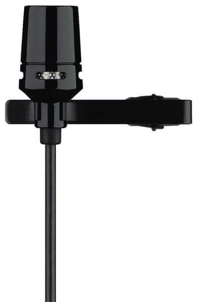 Shure CVL-B/C-TQG Kondenzátorový klopový mikrofon