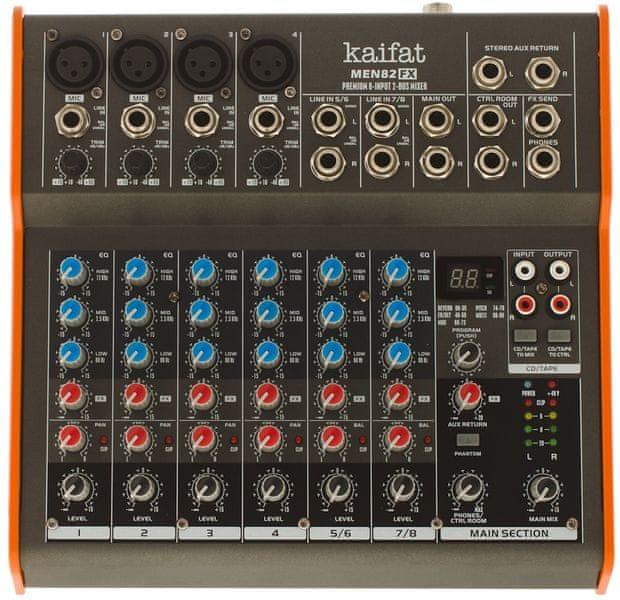 Kaifat MEN82FX Analogový mixážní pult