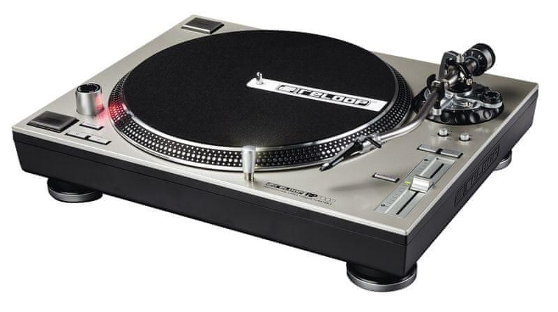 RELOOP RP-7000 SILVER DJ gramofon s přímým náhonem