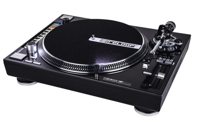 RELOOP RP-8000 STRAIGHT DJ gramofon s hybridním náhonem
