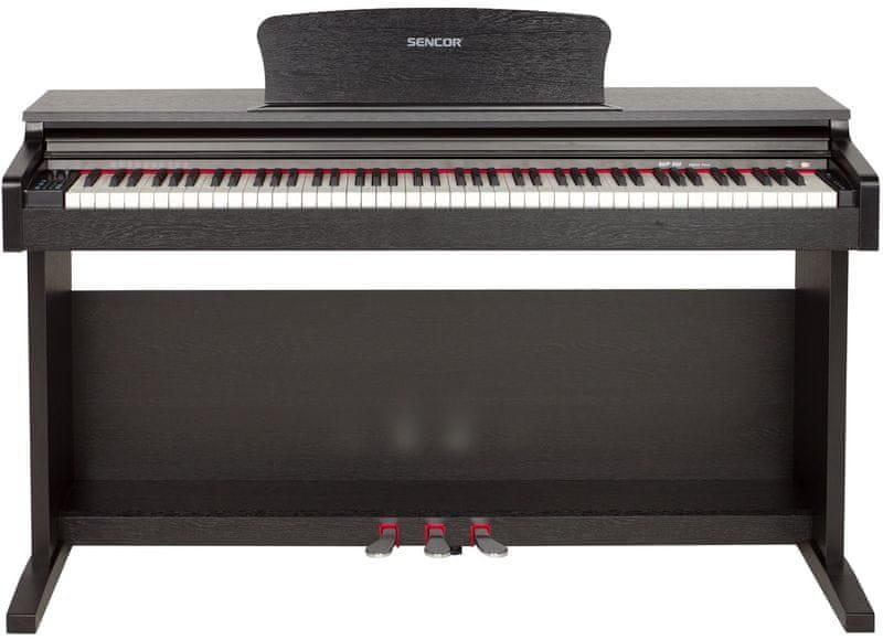Sencor SDP 200 BK Digitální piano