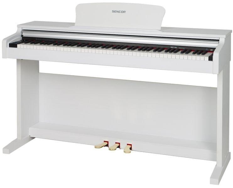 Sencor SDP 200 WH Digitální piano