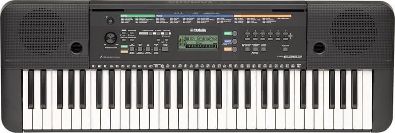 Yamaha PSR-E253 Klávesy bez dynamiky