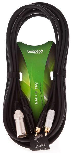 Bespeco EAY2X2R150 Propojovací kabel