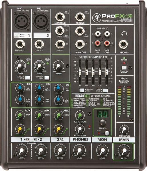 Mackie ProFX4v2 Analogový mixážní pult