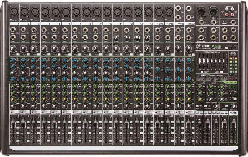 Mackie ProFX22v2 Analogový mixážní pult