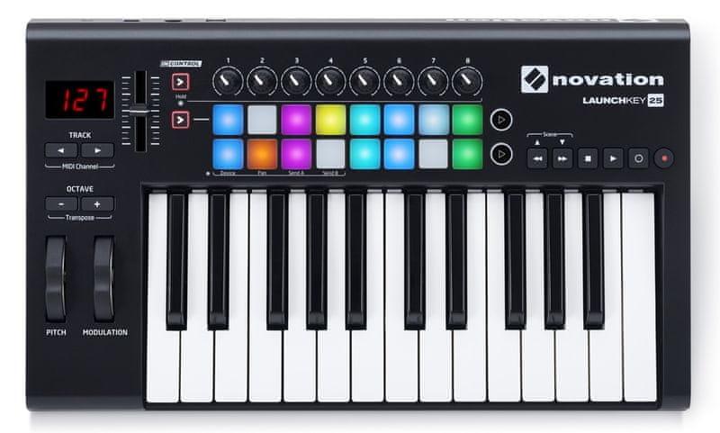 Novation Launchkey 25 MK2 USB/MIDI keyboard