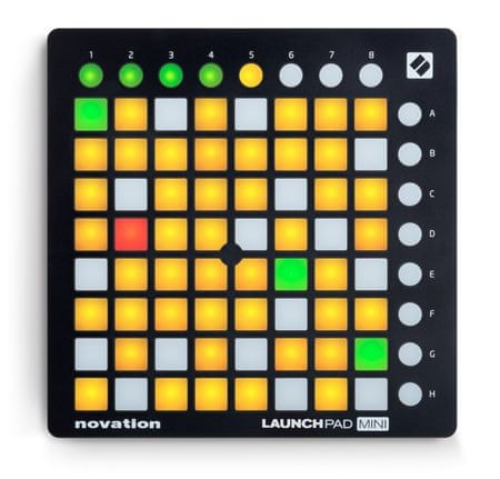 Novation Launchpad Mini MK2 USB/MIDI kontrolér